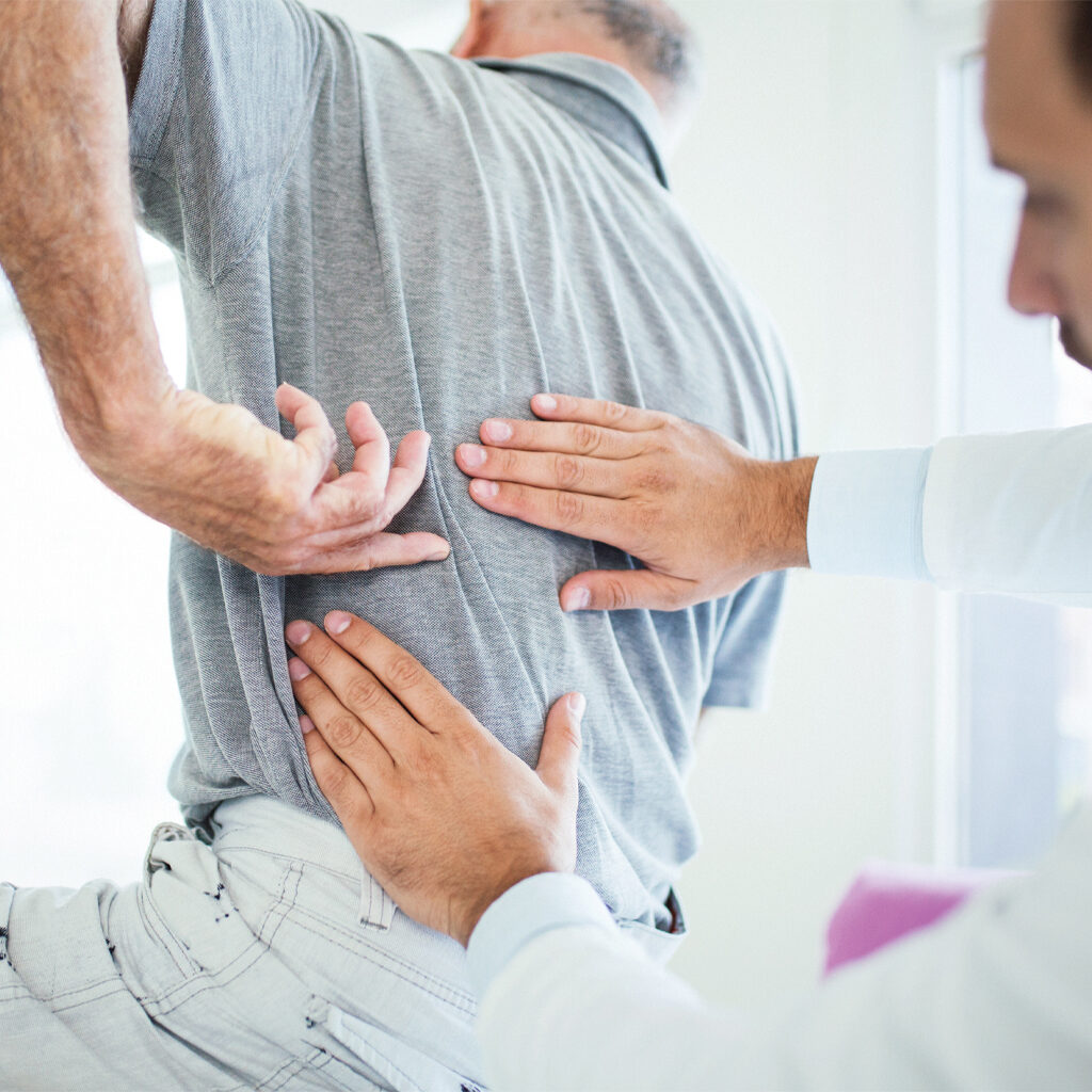 Lower back pain treatments at Allpria Healthcare in Denver