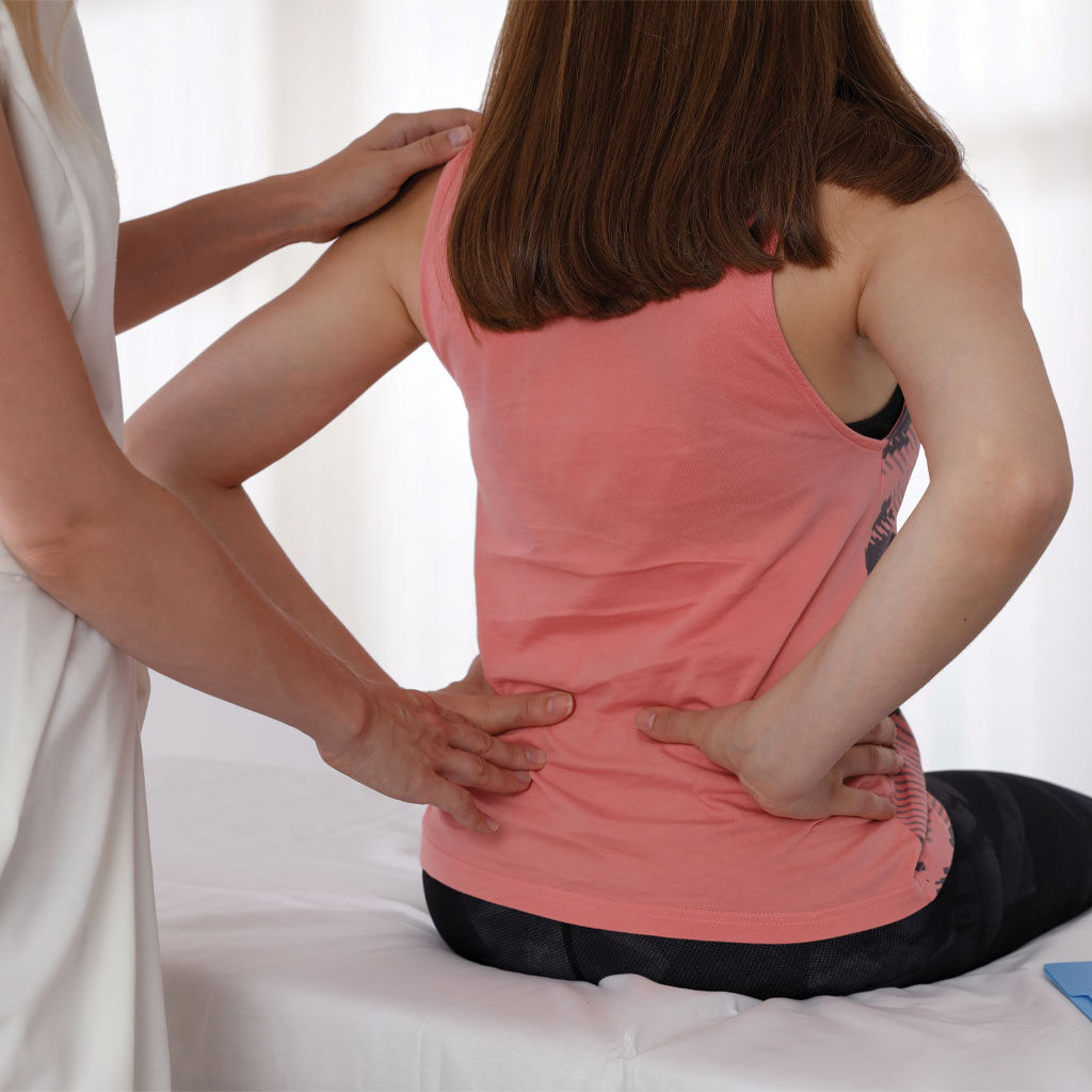 Patient with back pain and injections and pain blockers in Denver, CO